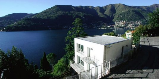 Modern Villa Blevio with terrace and lake view