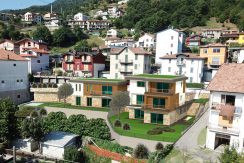 Modern apartments Lake Como Pianello del Lario