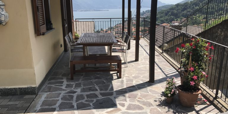 terrace in Lake Como - lake view