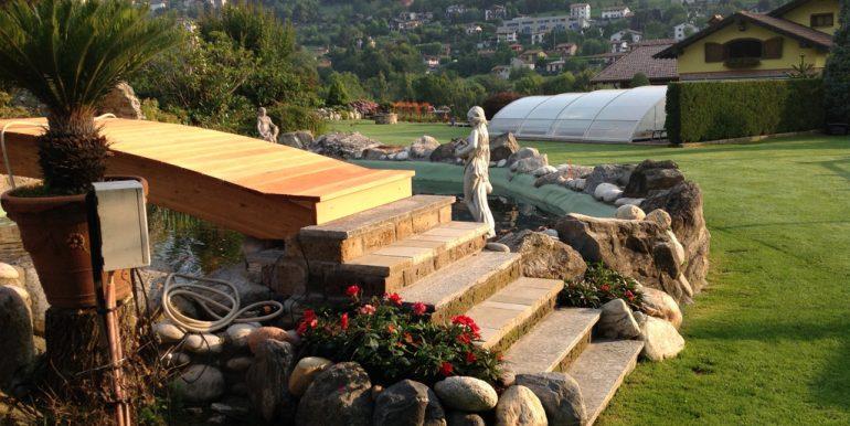 Castiglione D'Intelvi with garden, swimming pool