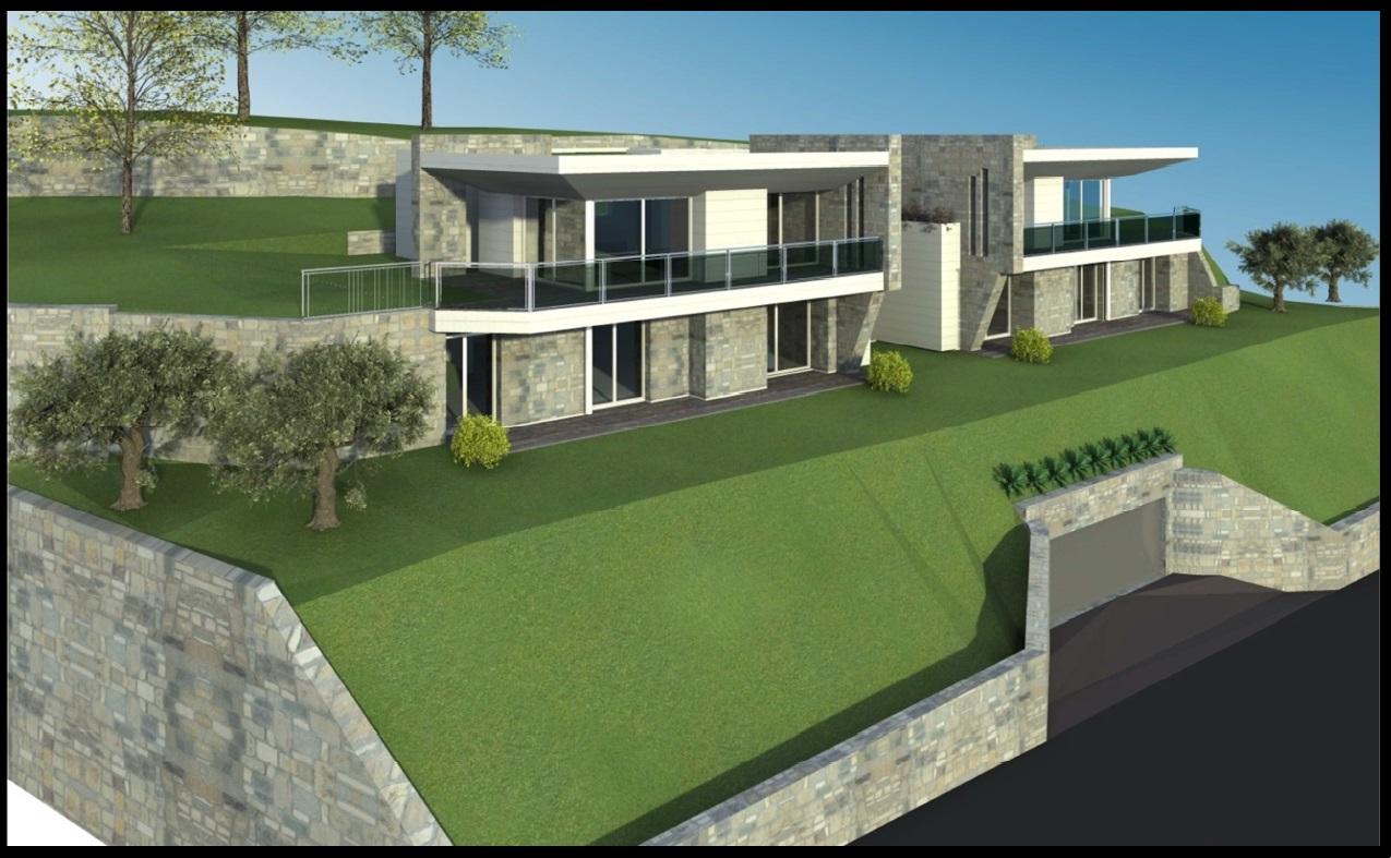 Lake Como Laglio Residence of Modern Design with Lake View