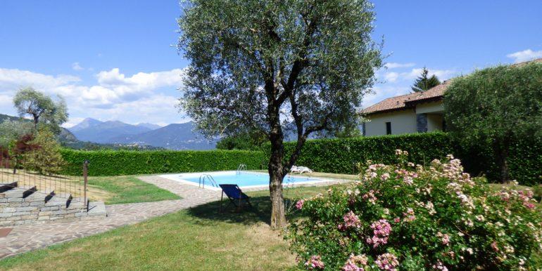 Swimming pool and garden Tremezzina
