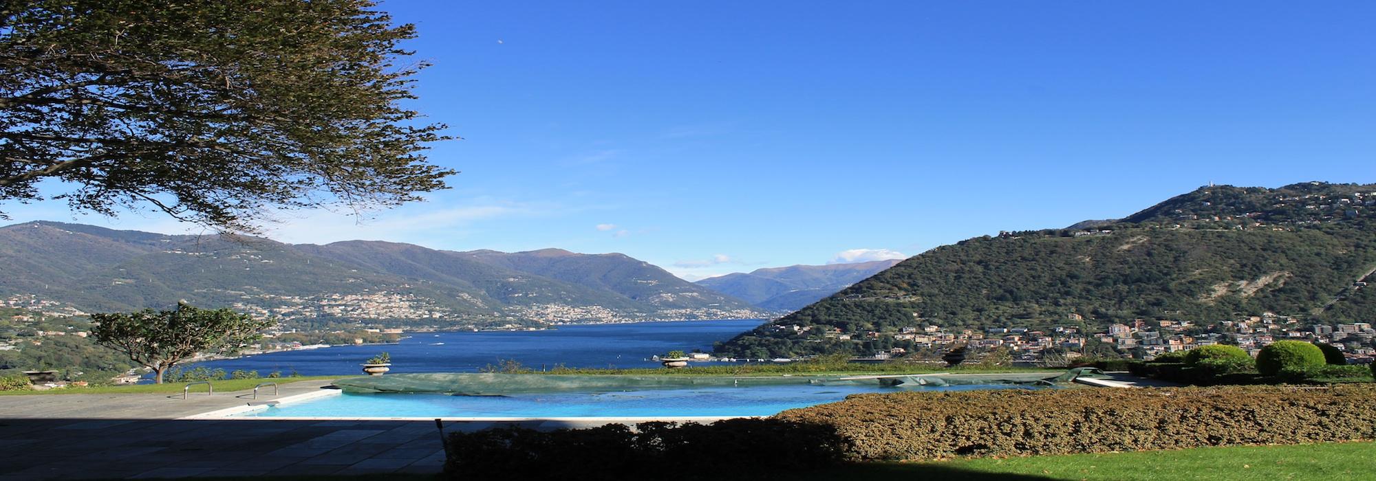 Lake Como Luxury Apartment with Lake View