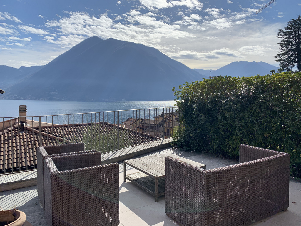 Apartment Argegno with swimming pool and Lake Como view