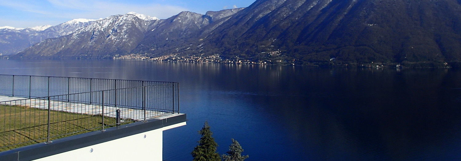 Lake Como Argegno Residence with Swimming Pool and Lake View