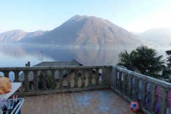 Lake Como Argegno Apartment with Amazing Lake View