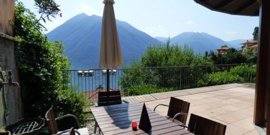 Lake Como Argegno Villa Dominating the Lake