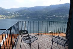 Carate Urio with terrace and lake view