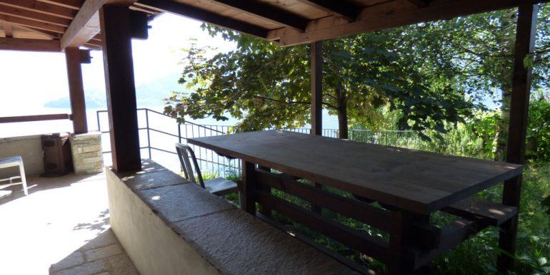 House Pianello del Lario with terrace and lake view