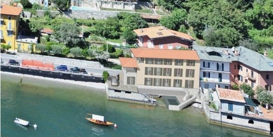 Lake Como Laglio Villa Directly On the Lake