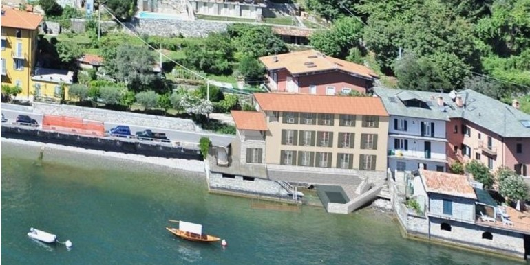 Lake Como Laglio Apartment Directly on The Lake
