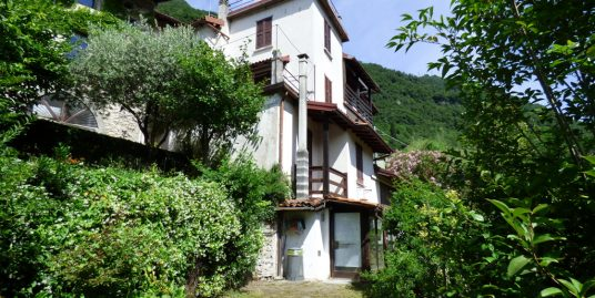 Apartment Laglio with garden, balcony and lake view