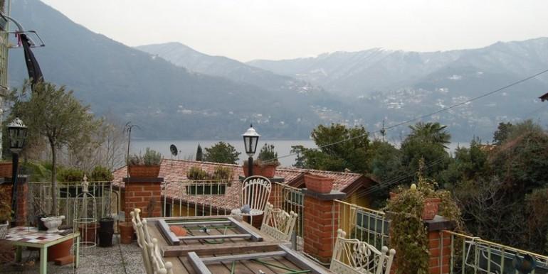 Lake Como Laglio Villa with lake view