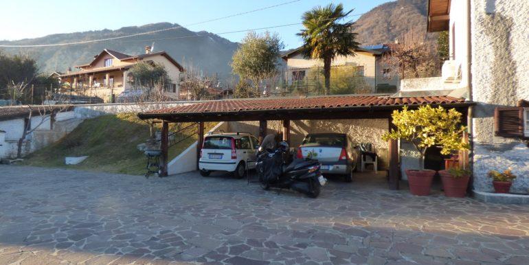 Lake Como Lenno House with Terrace and Garden - Carpark
