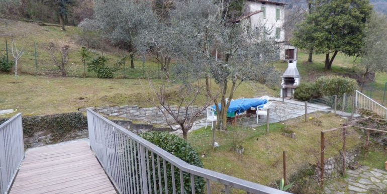 garden of Mezzegra apartment - Lake como