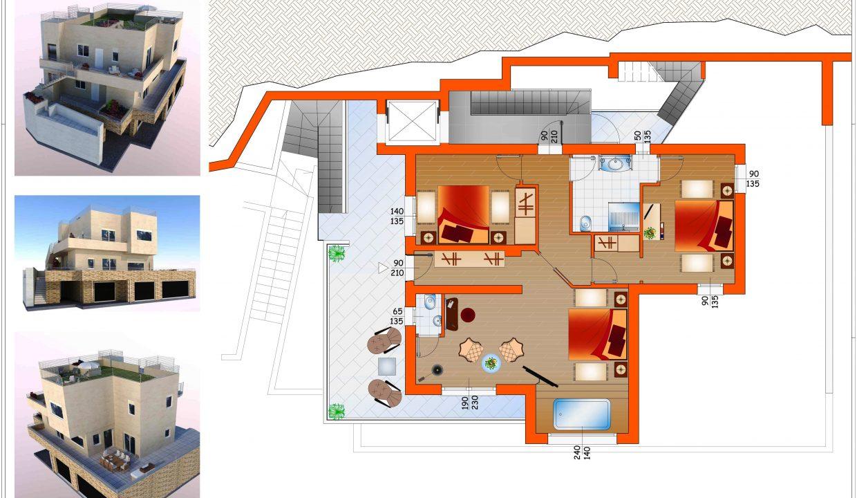 Modern Design Villa with View Lake Como Colonno
