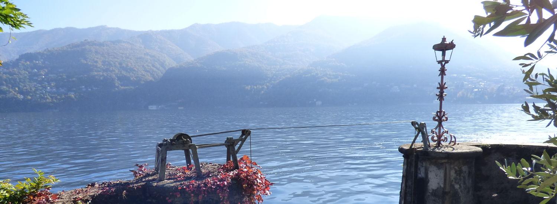 Lake Como Carate Urio Villa Directly on The Lake