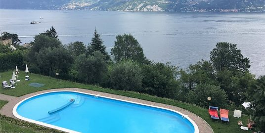 Menaggio Apartment with swimming pool, garden, terrace and lake view