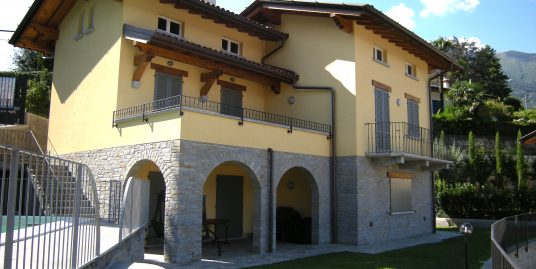 Villa Menaggio with lake view and swimming pool