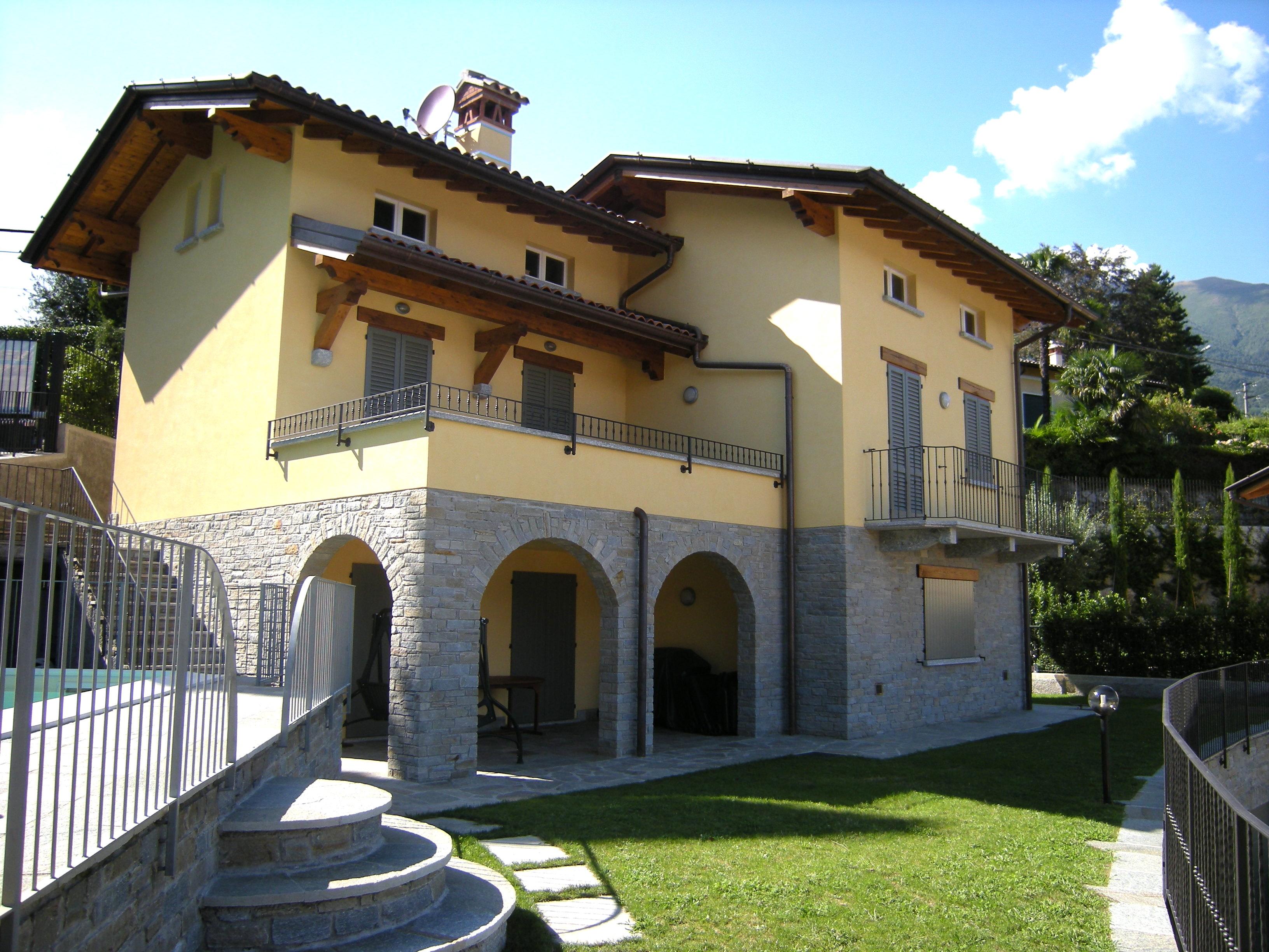 Villa Menaggio with lake view and swimming pool