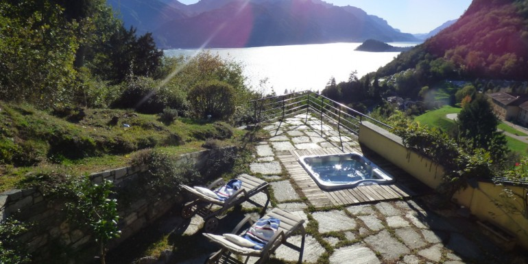 Lake Como Menaggio Villa With Land and Lake View