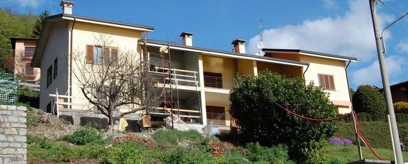 Lago Como Meraggio Appartamento con giardino e vista lago. Rif MA032D (1)