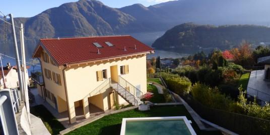Lake Como Mezzegra Residence with Pool and Amazing Lake View