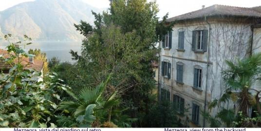 Lake Como Mezzegra Detached Villa with Garden