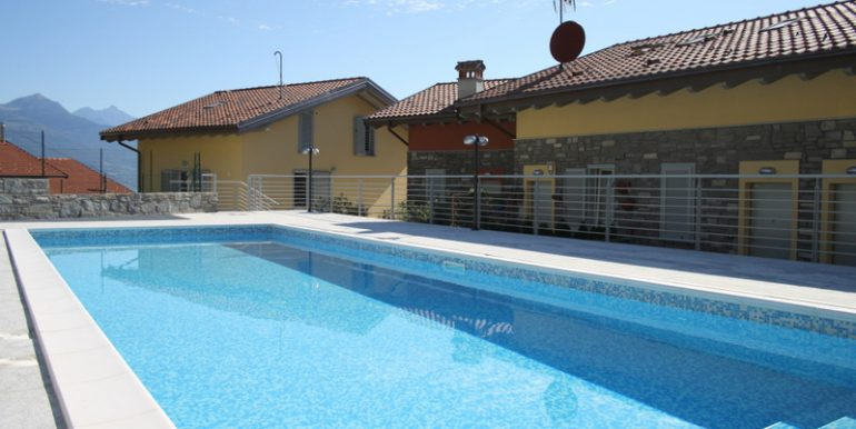 Lago Como PIANELLO DEL LARIO Residence con piscina RIF (63)