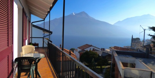 Lake Como Pianello del Lario Apartment with Amazing Lake View