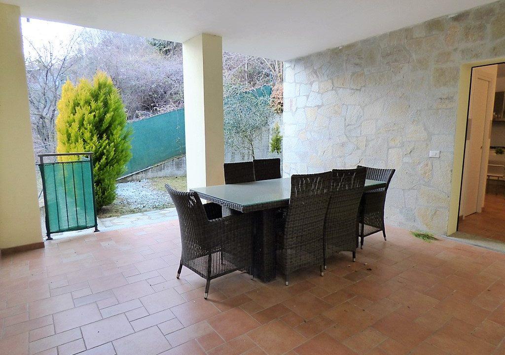 Terrace in apartment Plesio