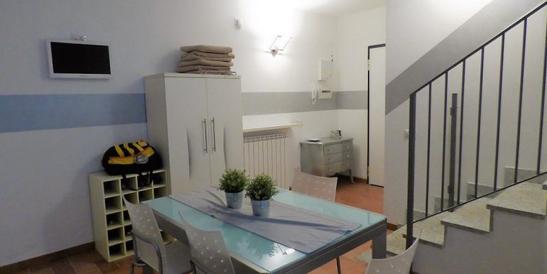 Apartment Plesio - Kitchen and living room