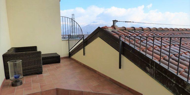 Terrace in apartment - Lake Como