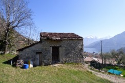 Lenno Stone Rustico to Renovate with buildable land