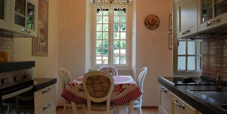 Kitchen in apartment San Siro