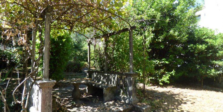 Lake Como garden in Tremezzina