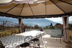 Lake Como Domaso with lake view