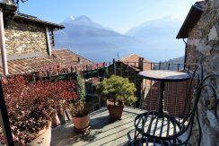 Lake Como Pianello del Lario Stone house with lake view