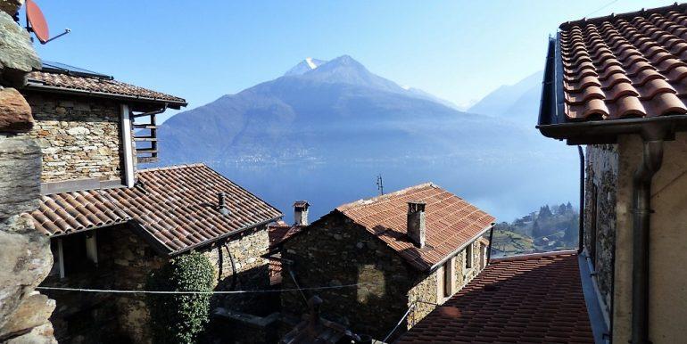 Lake Como Pianello del Lario - lake view