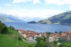 Lake Como Pianello del Lario Renewed Rustico with Amazing Lake View and Garden