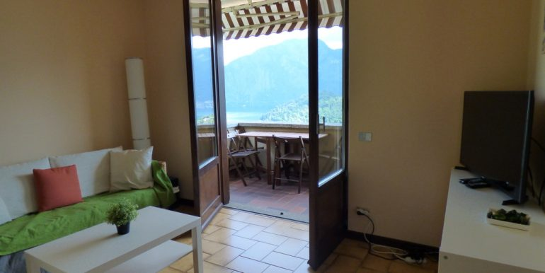 Lake Como Lenno Apartment with Lake View - Terrac and view