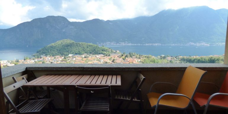 Lake Como Lenno Apartment with Lake View - terrace