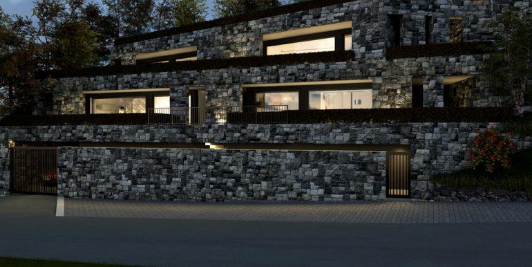 Lake Como Argegno Modern Residence with Pool