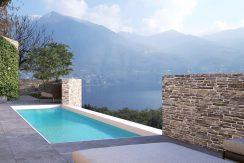 Lake Como Carate Urio Villa with Modern Design