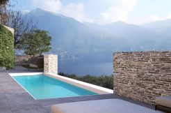 Lake Como Carate Urio Villa with Modern Design