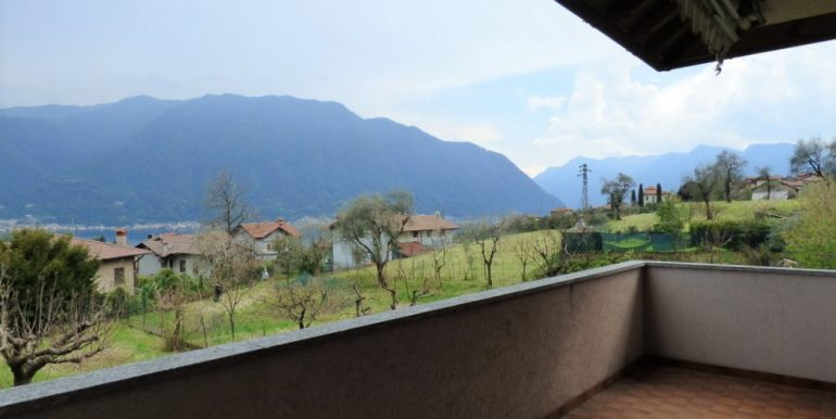 Terrace - Lenno Villa with garden and lake view
