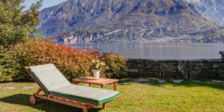 Lake Como Bellagio Luxury Villa Front Lake with Boathouse