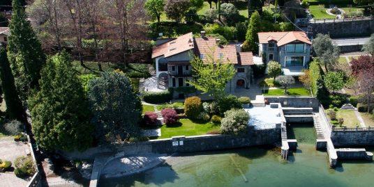 Lake Como Luxury Villa – Bellagio – Front Lake with Boathouse