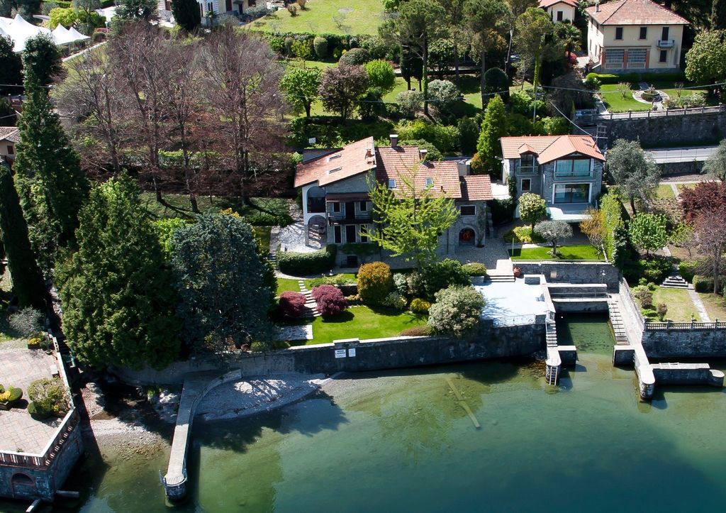 Lake Como Luxury Villa – Bellagio – Front Lake with Boathouse