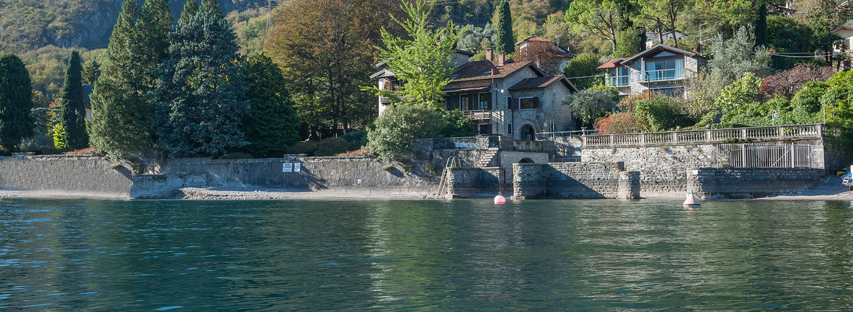 Lake Como Bellagio Luxury Villa Front Lake with Boathouse